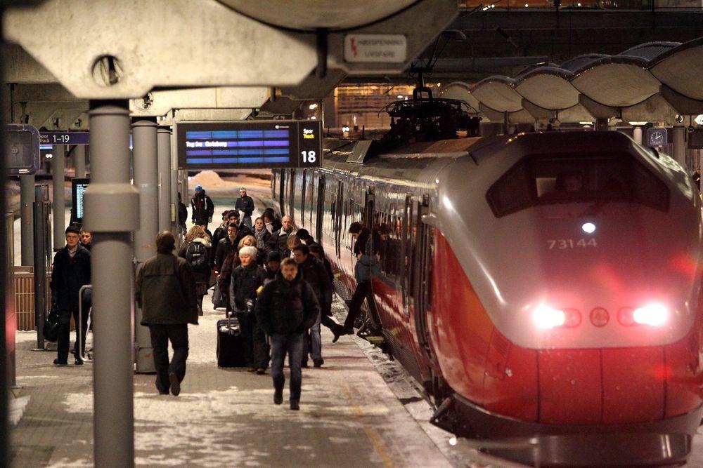 Nå kan reisende gå inn på nettet og se hvor ofte deres daglige tog er forsinket, sammenliknet med andre togavganger.