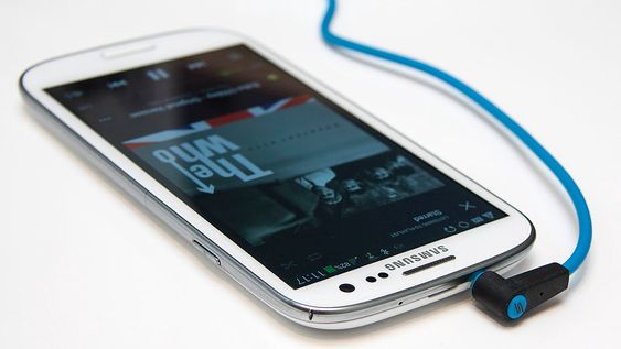 Galaxy S3 fungerer bra til underholdning.