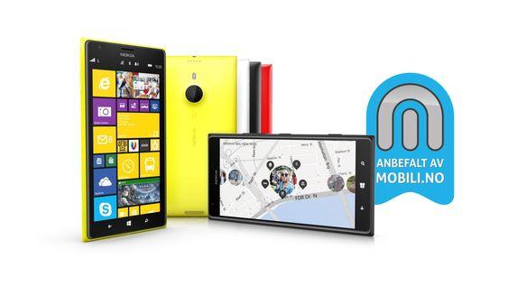 Nokia Lumia 1520 fortjener vårt anbefalt-stempel.