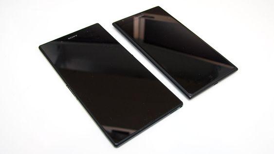 Nokia Lumia 1520 og Sony Xperia Z Ultra har omtrent samme maskinvare. Sony-telefonen har imidlertid en del større skjerm.