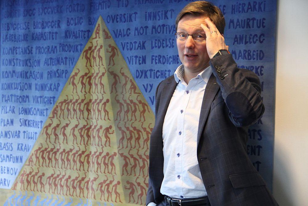 Pål Egil Rønn vil ha større del av verdikjeden, og større kontroll med prosjekteringen. Svaret ble et nytt selskap.