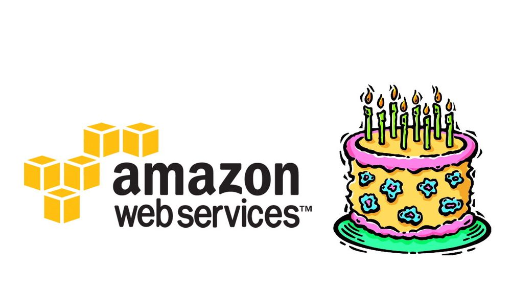 Amazon Web Services feirer åtte år i dag