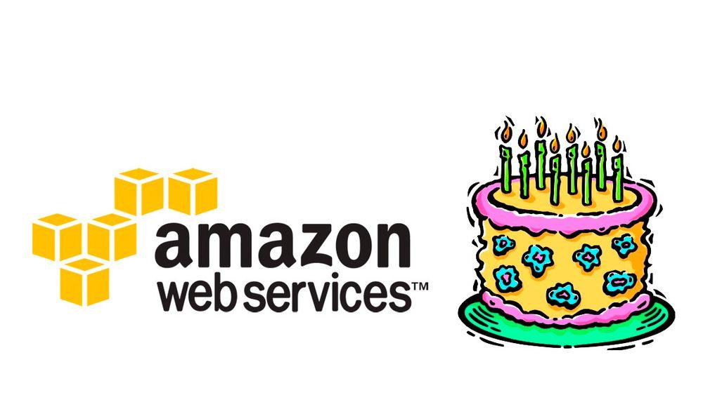 Amazon Web Services feirer åtte år i dag