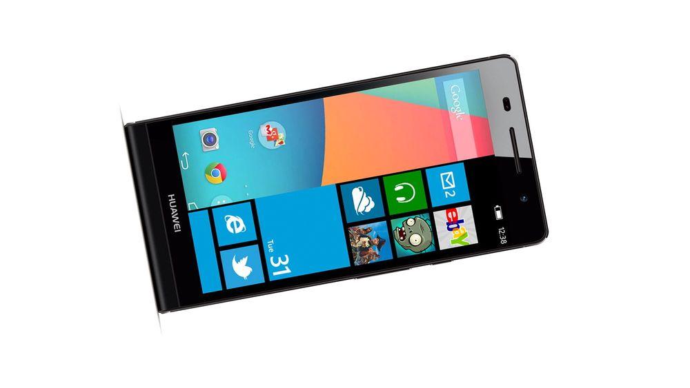 Huawei har en telefon med både Android og Windows Phone på vei.