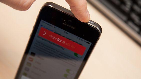 En enkel omstart kan være det som skal til for å gjør telefonen kjapp igjen. Når startet du telefonen på nytt sist?