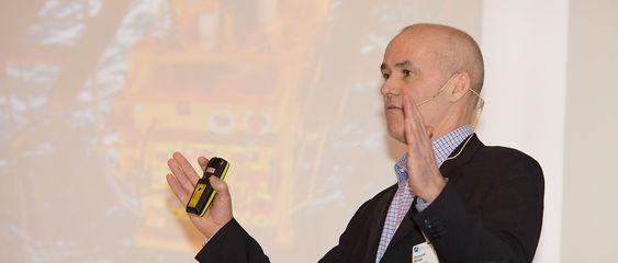 """Brødristeridé: AkerSlutions og Osmund Skorge ble inspirert av """"toast rack"""" for å minimere antall løfteoperasjoner under installasjon av subseautstyret på Aasta Hansteen."""