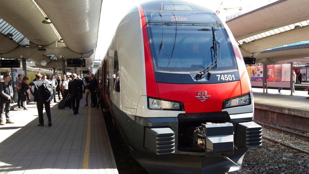 Mot slutten av sommeren vil alle Flirt-tog type 74 ha komfortseter i alle vogner.