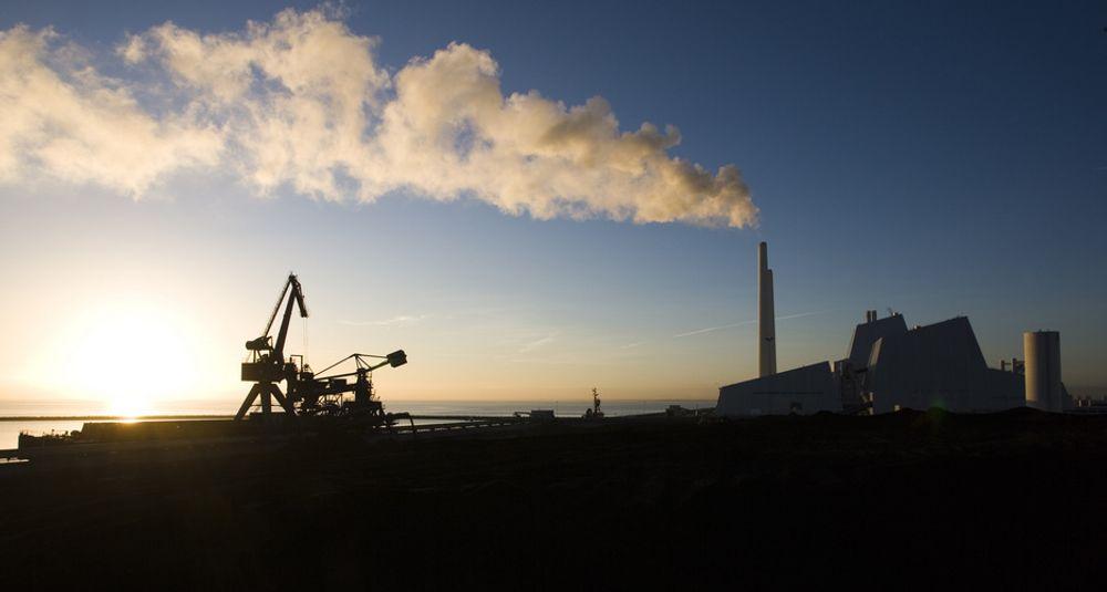 Usikkert: Energiproduksjon fra gass, som her ved Avedøreværket, kan ha langt høyere klimautslipp enn tidligere antatt.