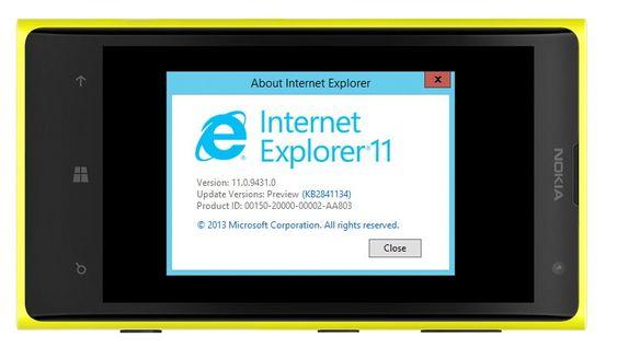 Internet Explorer 11 kommer med nye funkskjoner når den dukker opp på Windows Phone.