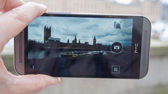 HTC One (M8) har et lettfattelig kameragrensesnitt.