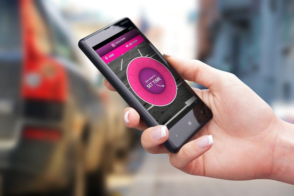 Parkeringsappen ble brukt til å kjøpe mer enn 2,2 millioner parkeringsbiletter i 2013.