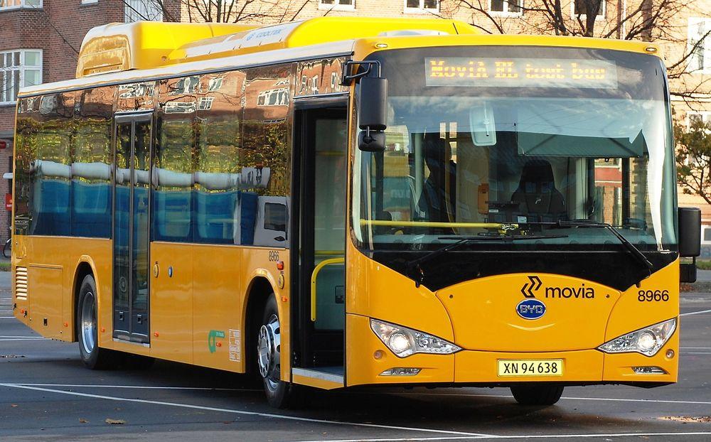 BYD ebus/K9 i København