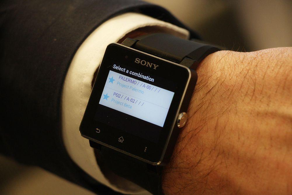 Smartklokke med tidsfangst kan kjøre fakturering fra håndleddet - nesten.