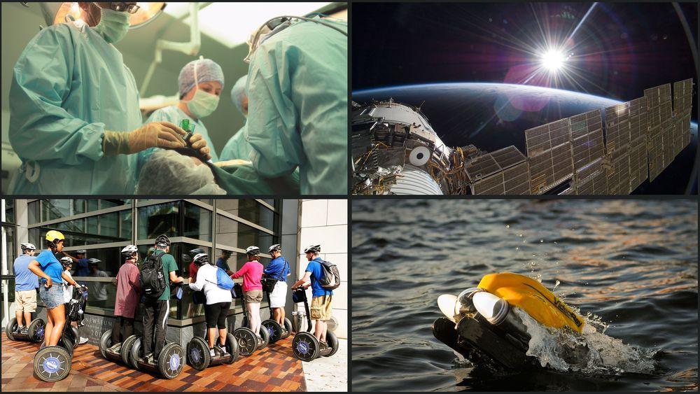 MANGE BRUKSOMRÅDER: Hjerteovervåking, smart lading av segwayer, romfart og nye bruksområder for ROV-er er bare noen av teknologioverføringene oljebransjen har stått for.