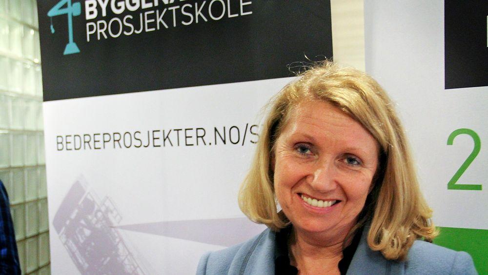 Tilbyr utdanning: Vigdis Lamberg tilbyr nå, på vegne av BA2015, prosjektlederutdanning til byggenæringen.