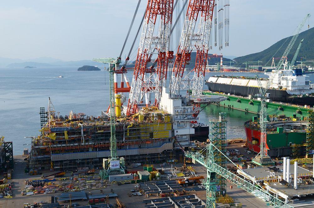 Valemon skal ferdigstilles ved Samsung-verftet i Sør-Korea.