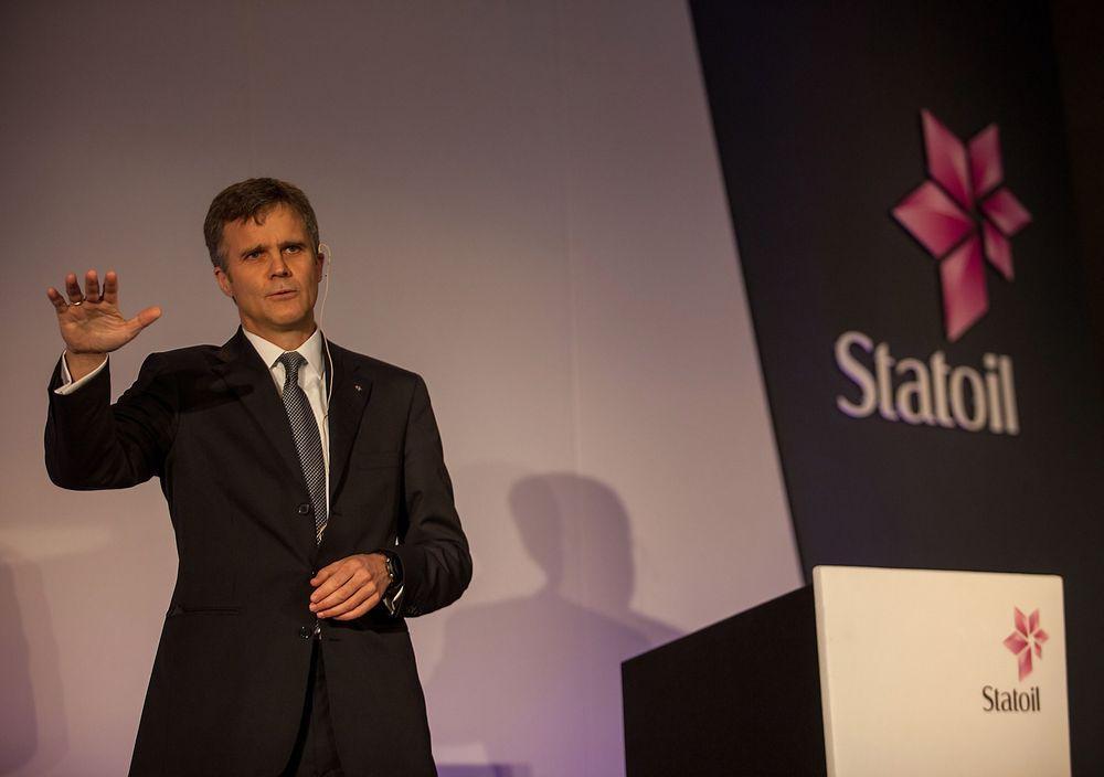 Konsernsjef i Statoil Helge Lund påpeker at selskapet må gå bredt ut for å finne områder og løsninger som kan holde kostnadene nede.