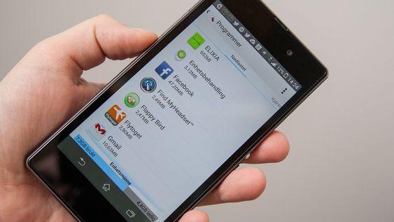 Det er lurt å fjerne apper du ikke bruker. Da frigjør du minne.