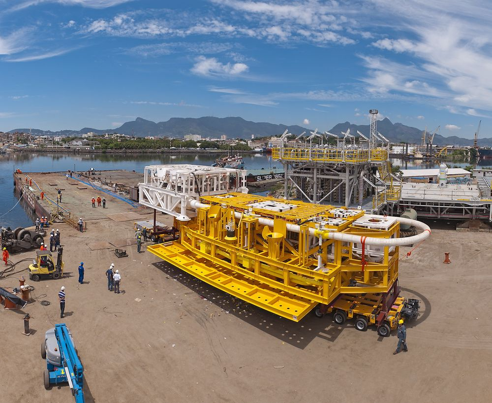 Stor utbygging: FMCs separasjonssystem er det første i verden som fra havbunnen kan separere tungolje og vann. I tillegg reinjiserer det vannet ned i oljereservoarene igjen.