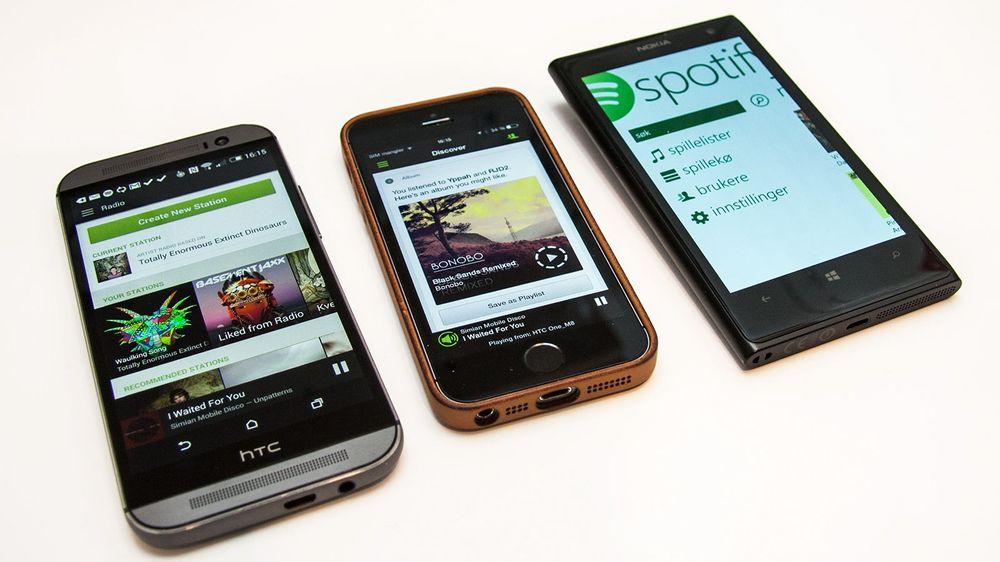 Spotifys mobilapp kan mer enn bare å strømme musikk. Den har for eksempel en radiofunksjon, og lar deg oppdage ny musikk.