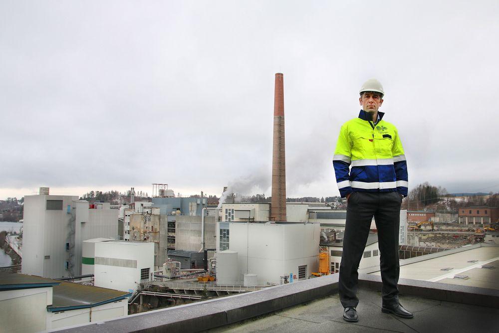 Daglig leder Rolf Jarle Aaberge i Treklyngen, datterselskap av Viken Skog.