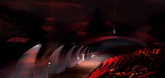 I Paris har arkitekter tegnet hvordan nedlagte metrostasjoner kan brukes til andre ting enn kollektivtrafikk. Arsenal er blant annet foreslått brukt til teater.