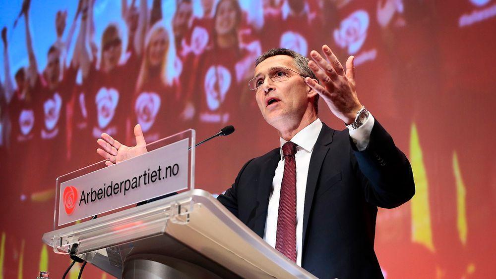 Ap-leder Jens Stoltenberg vil ha nytt klimaforlik og et nytt klimamål som forsterker Kyoto 2-avtalen.