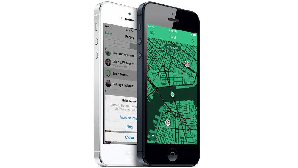 Denne appen lar deg markere venner du helst ikke vil treffe på, og advarer deg om de er observert i nærheten.