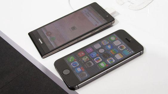 Huawei P6 ligner fremdeles ganske mye på iPhone, selv om det ikke er en direkte kopi.