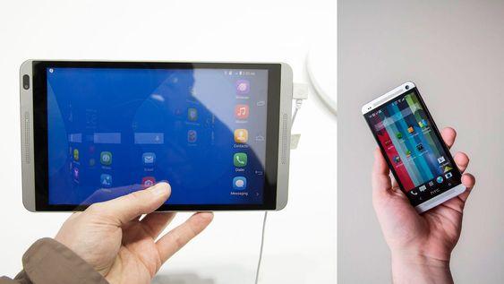 Vi ser dobbelt. Huawei tar en HTC One.