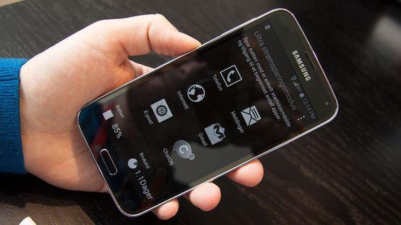 Samsungs strømsparemodus skal gjøre det mulig å bruke telefonen en dag ekstra selv om du bare har ti prosent batterikapasitet igjen.
