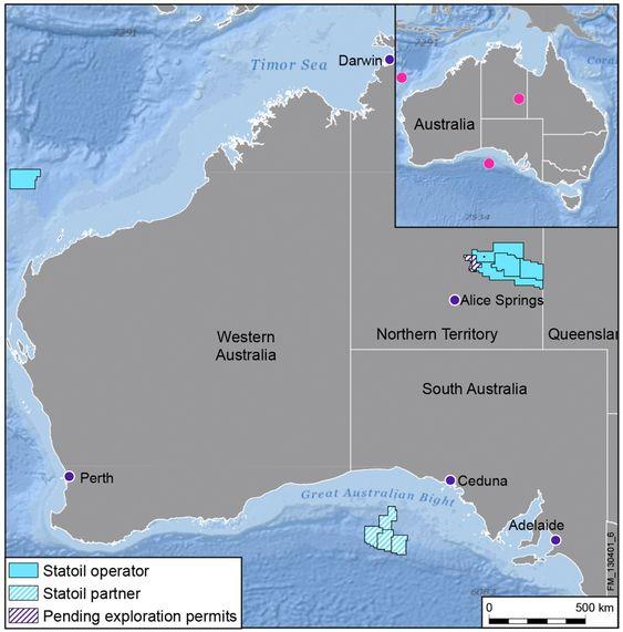 Statoil øker sin tilstedeværelse i Australia med tildelingen av 100 % andel i en stor letelisens i den nordre delen av det attraktive Carnarvon-bassenget på Australias nordvest-sokkel.