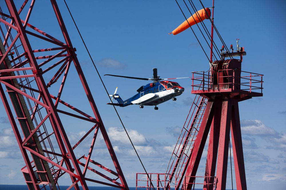 Her på Heidrun er det radarbasert kontrollert luftrom i dag, men radaren blir snart erstattet av en ADS-B-løsning.