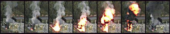 I 1997 eksploderte en transformator i Halden som følge av en indre kortslutning. En voldsom oljebrann fulgte i kjølvannet.  Først etter 19 timer var brannen slokket.