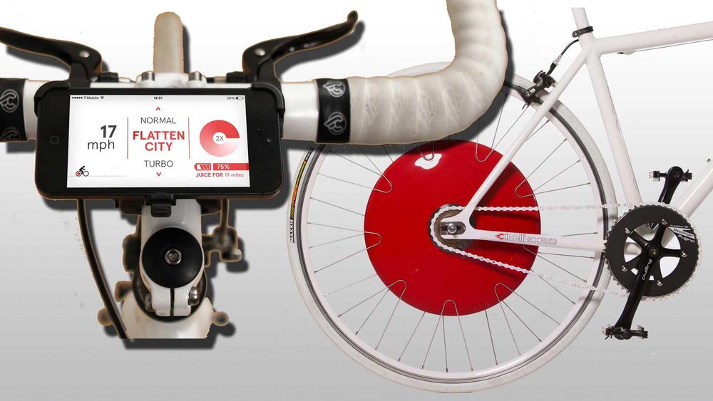 Det etterlengtede Copenhagen Wheel inneholder motor og batteri og gir deg statistikk og styring på smarttelefonen.