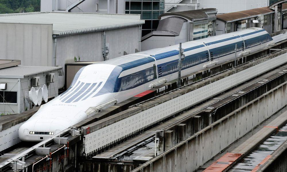 Under testing nådde Maglevbanen en makshastighet på 581 km/t.