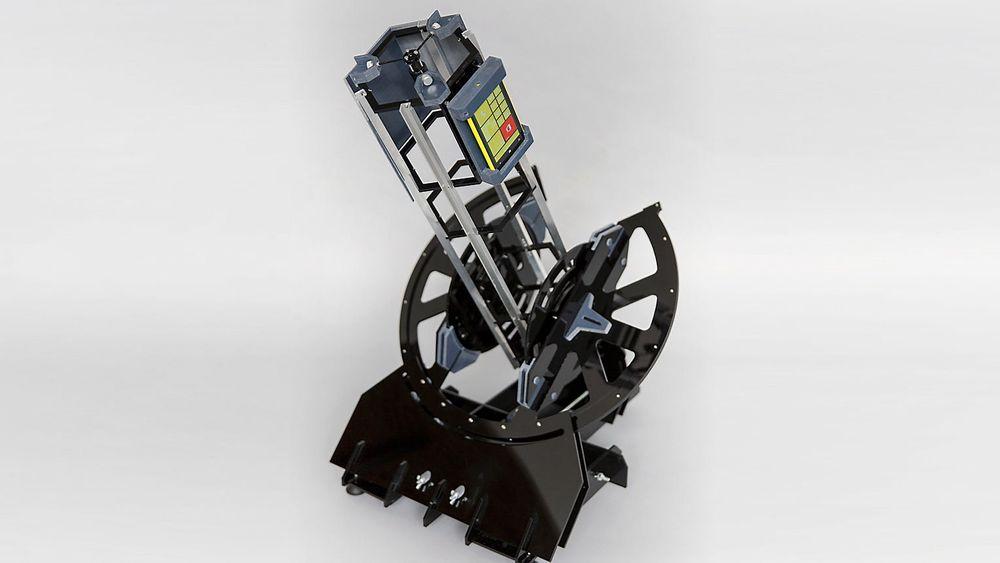 Dette teleskopet kan printes, og benytter en Nokia Lumia 1020 til å ta bilder av himmellegemer.