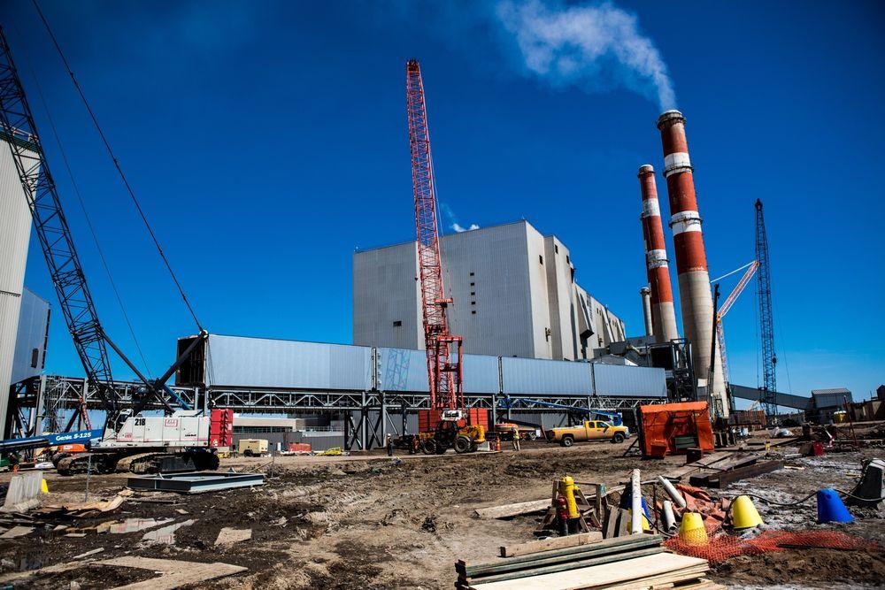 CO2-fangst og -lagring vil aldri skje i et så stort omfang at teknologien vil gi et betydelig bidrag til å redusere utslippene på globalt nivå, skriver Geo-redaktør Halfdan Carstens. Her fra Boundary Dam-prosjektet i Canada.