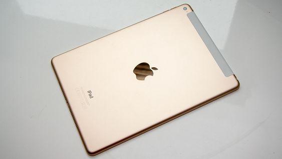 iPad Air 2 får du også i gullfarge.