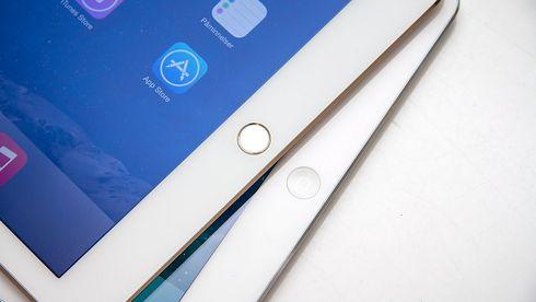 En kraftig iPad med fingeravtrykkleser