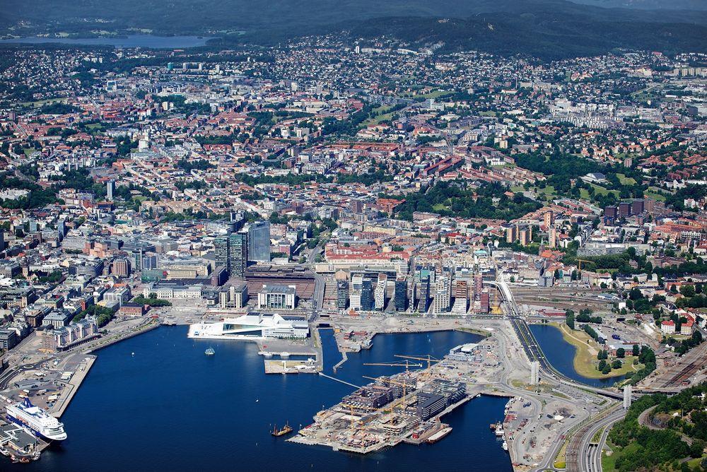Med innføring av nytt høydemålingssystem er Oslo 37 centimeter høyere enn tidligere.