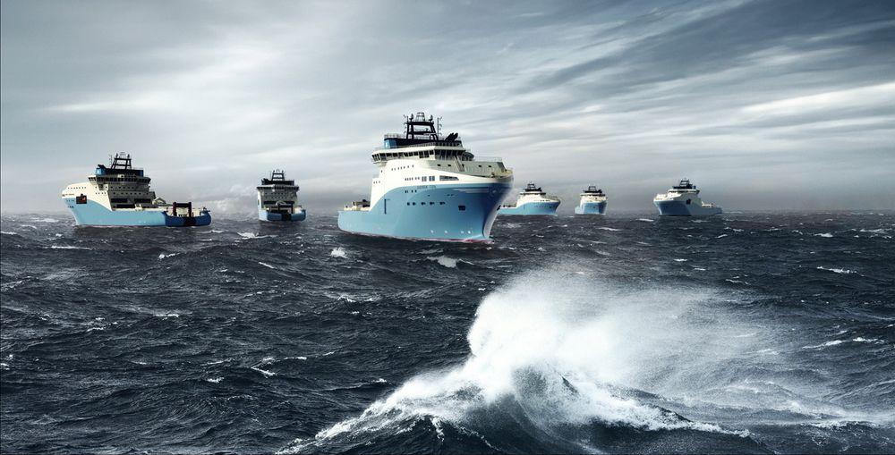 Opsjon: Maersk får overlevert de seks AHTS-ene med SALT 200-design i perioden fjerde kvartal 2016 og tredje kvartal 2017. Rederiet har opsjon på fire skip til.