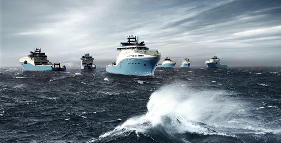 Opsjon: Maersk får overlevert de seks AHTS-ene med SALT 200_design i perioden fjerde kvartal 2016 og tredje kvartal 2017. Rederiet har opsjon på fire skip til.