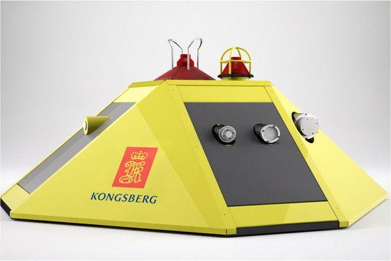 Sensorpakker: Kongsberg skal levere to slike havbunnsobservatorier spekket med sensorer på havbunnen ved Svalbard.