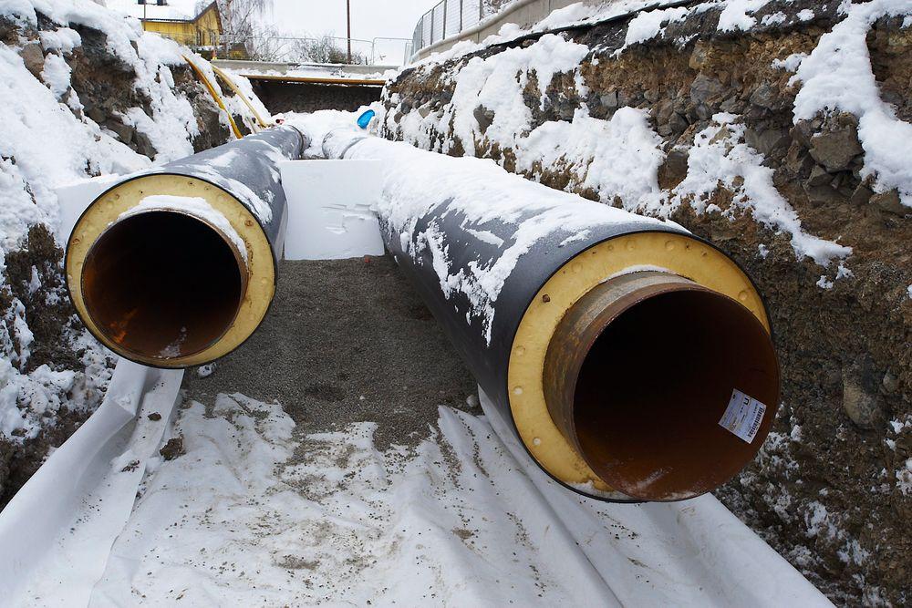 Redusert andel olje som spisslast om vinteren, gjør fjernvarmen stadig grønnere.