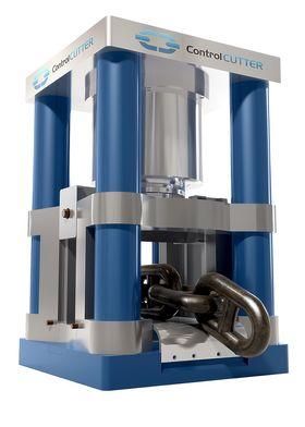 Energi: I løpet av tre sekunder klarer Control Cutter å kappe 167 millimeter tykke kjettinger. Energien som kreves stiler strenge krav til systemet og materialene. Det hydraulisk-mekaniske systemet bruker nitrogen for å kunne utløse energien så raskt.