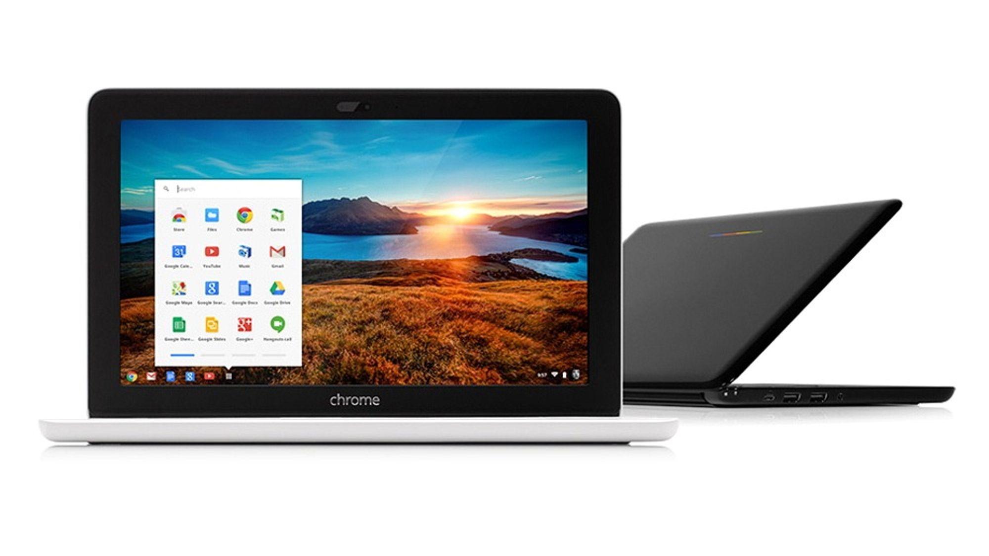 De første Chromebook-ene er nå offisielt tilgjengelig i Norge.