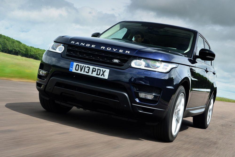 Slank: 2014-modellen av Range Rover Sport er 900 kilo lettere enn 2010-modellen.