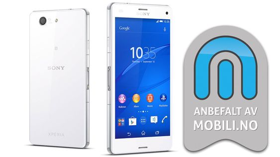 Vi anbefaler Sony Xperia Z3 Compact.