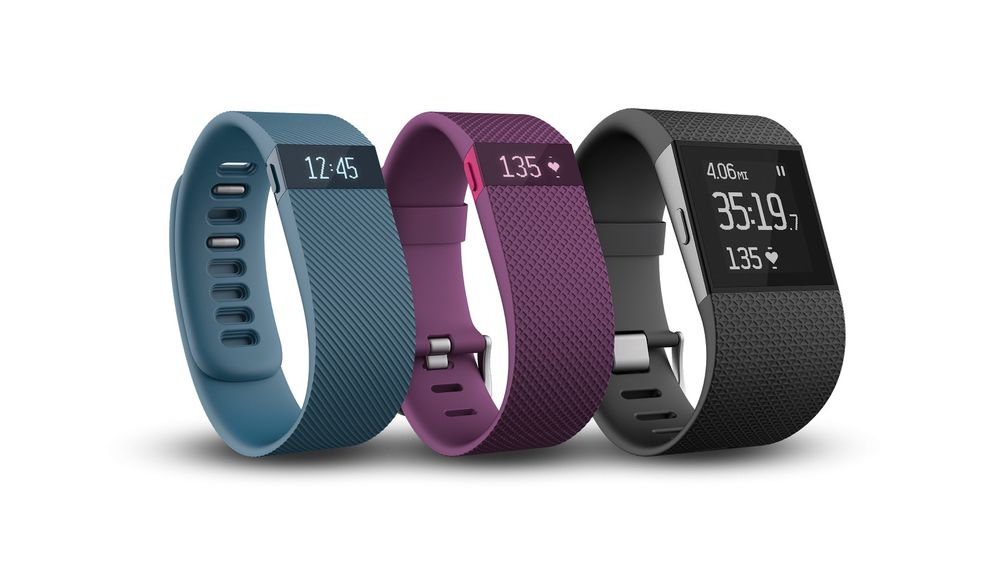 Fitbits nye aktivitetsarmbånd og smartklokke - Charge, Charge HR og Surge.